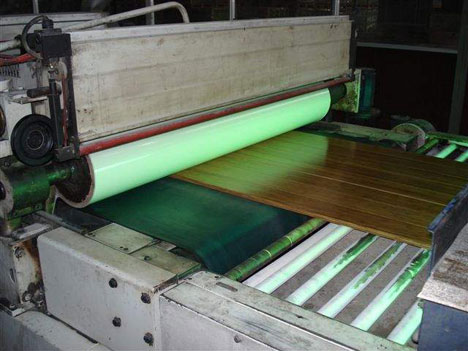mesin papan bambu