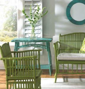 set bambu furniture cantik