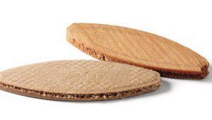 double sambungan biskuit