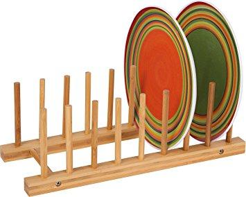 rak piring bambu