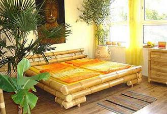 ranjang bambu