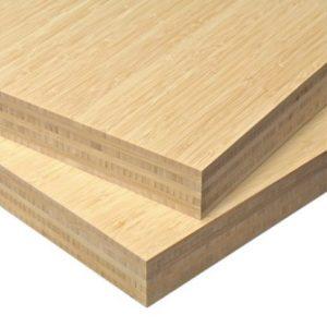 papan bambu plain pressed