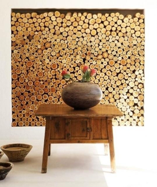 hiasan dinding kayu cabang